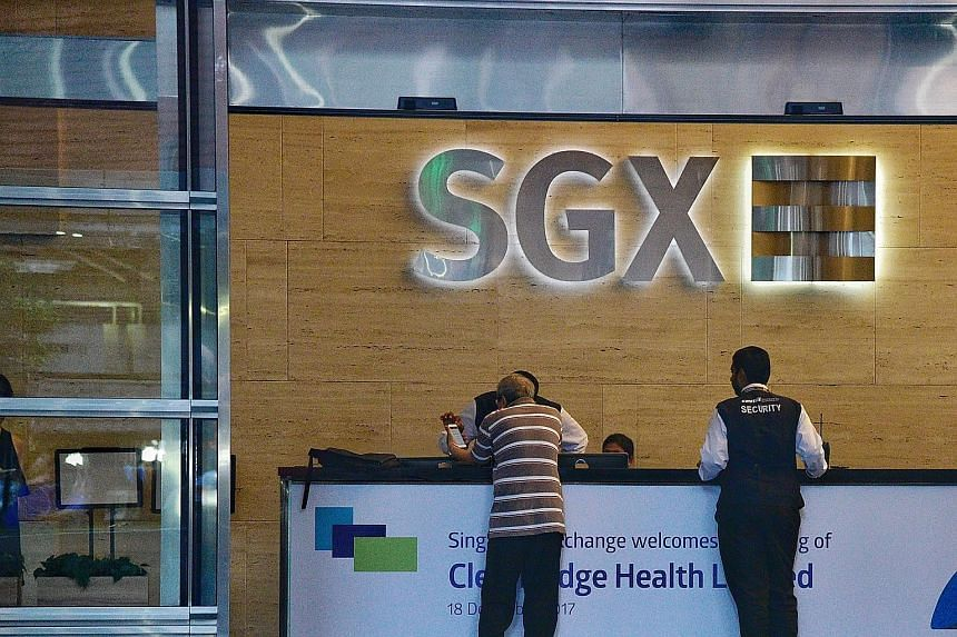 The total market capitalisation value of the 746 companies listed on the SGX stood at $1.1 trillion at the end of last month.