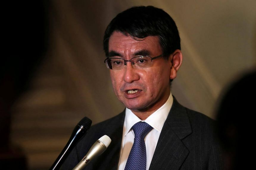 Japan's Foreign Minister Taro Kono said trade tariffs on foreign steel and aluminium could harm economic relations between the US and Japan.