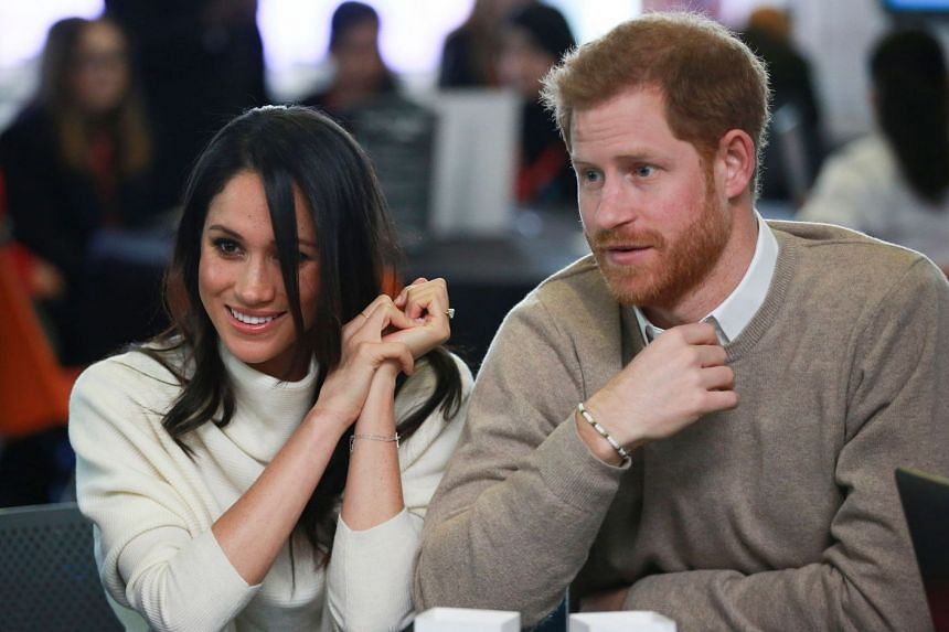 Prince Harry and Meghan Markle attend an event marking International Women's Day in Birmingham, England.