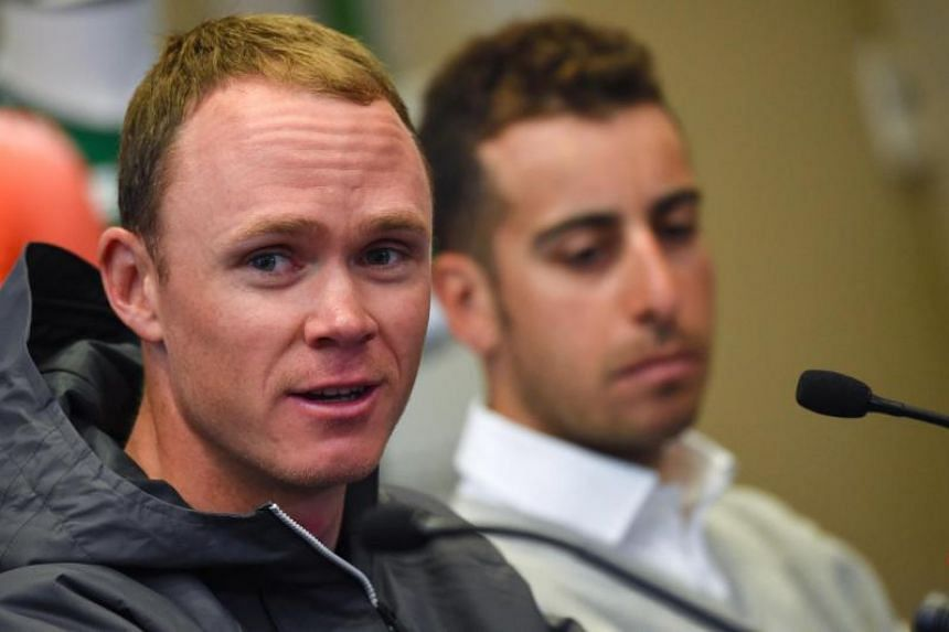 British rider Chris Froome is competing at the Tirreno-Adriatico in Italy, his second race since the failed test was made public by The Guardian and French daily Le Monde.