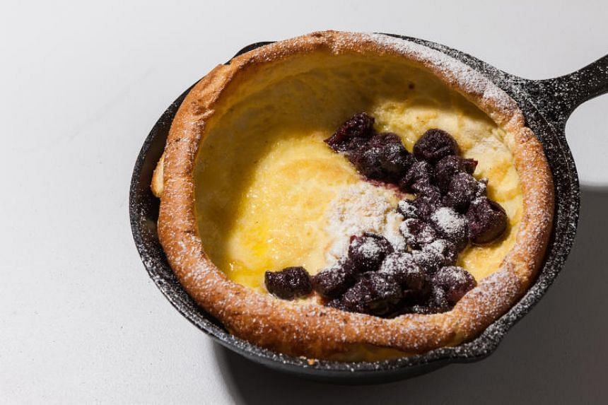 Blender Dutch Babies - these pancakes are big and puffy, and simple to make.