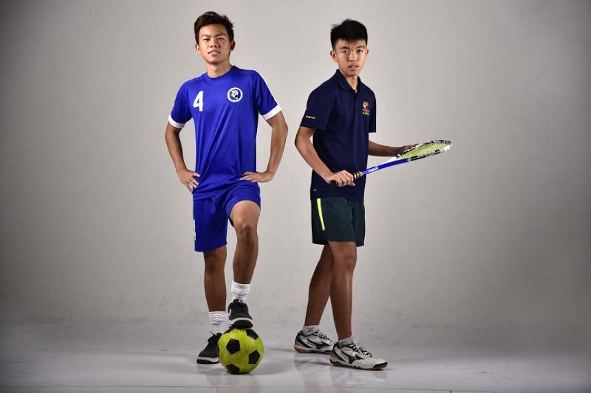 Footballer Justin Hui and squash player Kan Weng Yean are two out of the four nominees for ST's Young Athlete of the Year. The other two are gymnast Lincoln Forest Liqht Man and judoka Wang Jinghan.