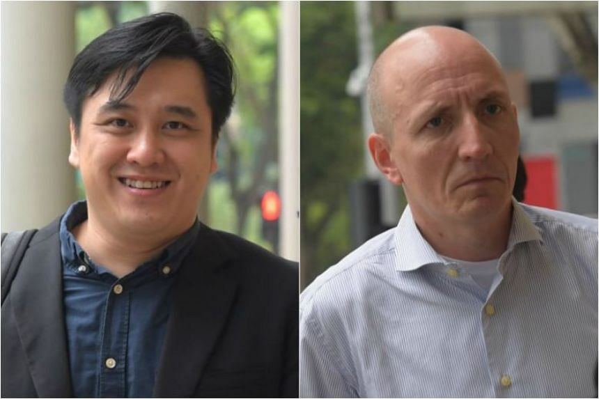 "99.co founder and chief executive Darius Cheung (left) called the judgment a ""victory for the Internet"", while PropertyGuru's group executive director Jani Rautiainen said the verdict ""sends a strong message about fair play and good business ethics"