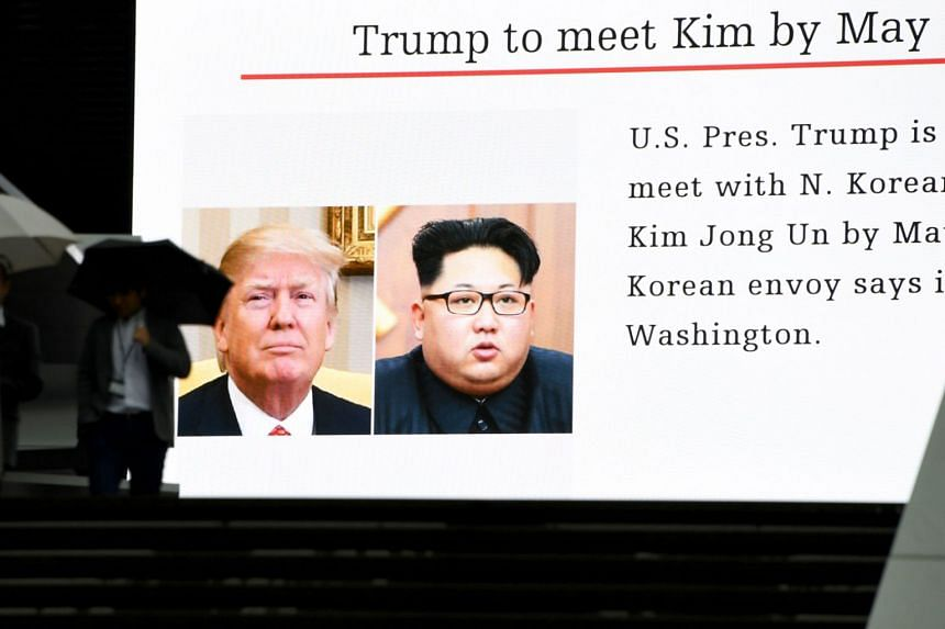 US President Donald Trump has agreed to a summit with North Korean leader Kim Jong Un.