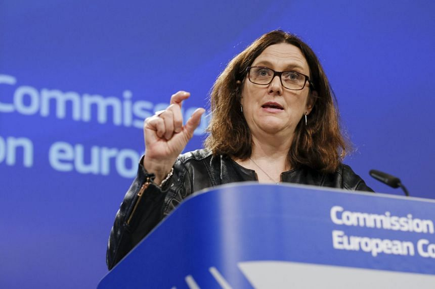 European Commissioner for Trade Cecilia Malmstrom said that Europe shared American concerns about China's support for its steel industry, but the tariffs of 25 per cent on steel and 10 per cent on aluminum were the wrong way to address the issue.