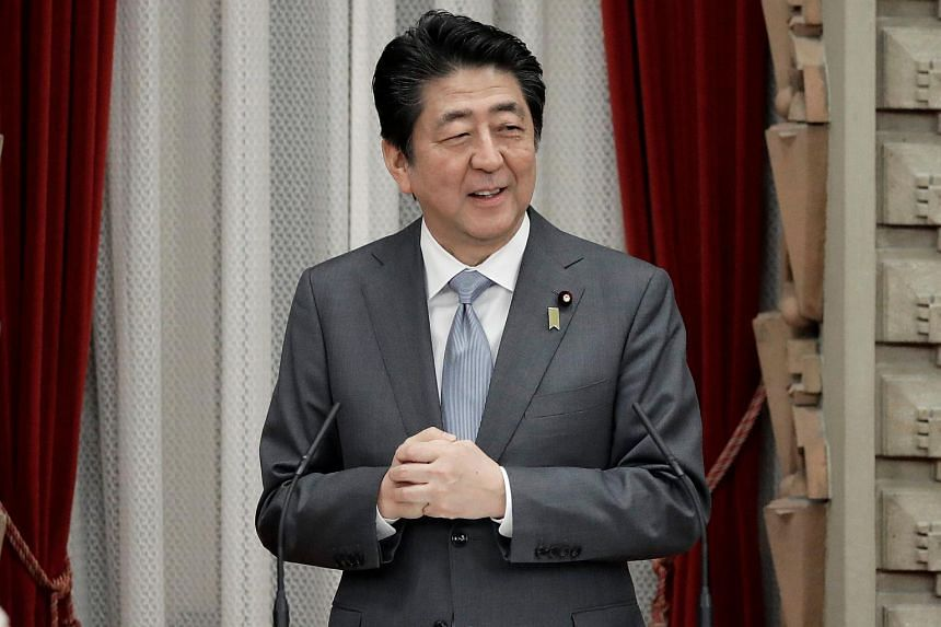 """Japan's PM Shinzo Abe had warned that """"talks for the sake of talks are meaningless""""."""