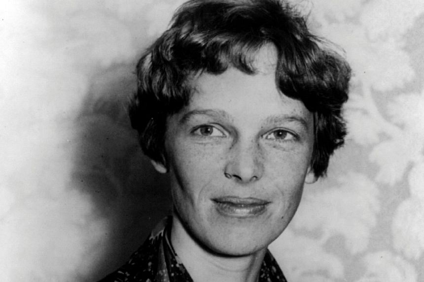 Renowned US pilot Amelia Earhart is pictured in this 1928 photograph released on March 20, 2012.