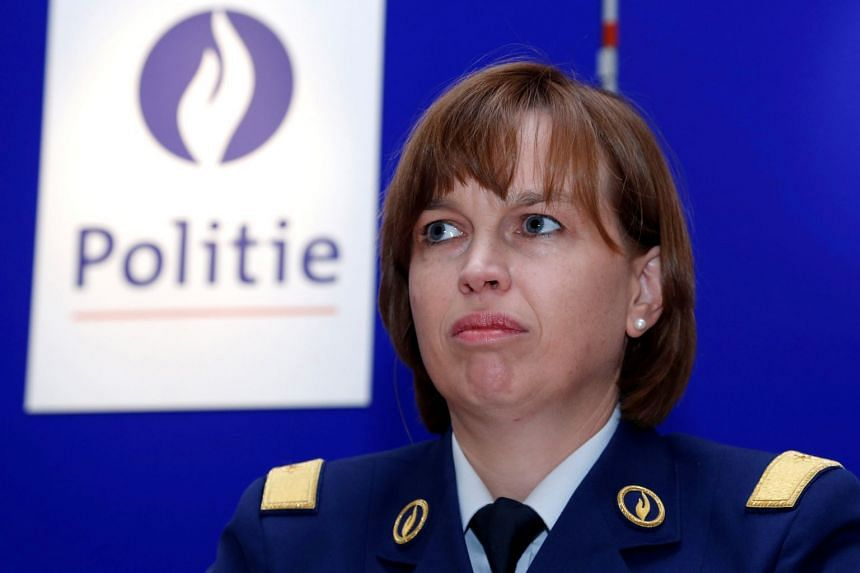 A file photo of Catherine De Bolle at a news conference in Brussels, Belgium, on Sept 20, 2012.