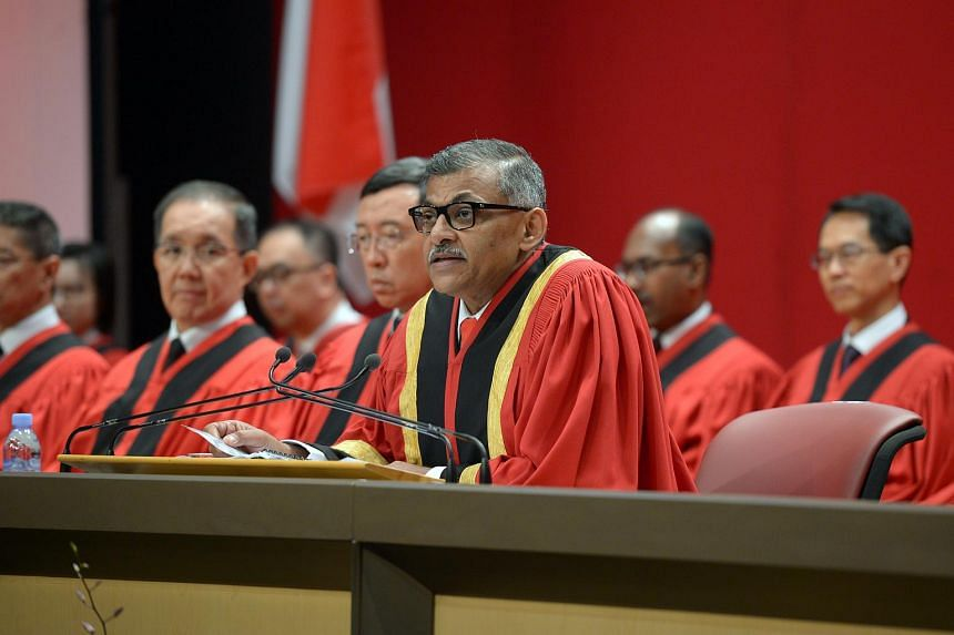 Chief Justice Sundaresh Menon said that, as a general rule, offenders should be punished separately for each separate offence.