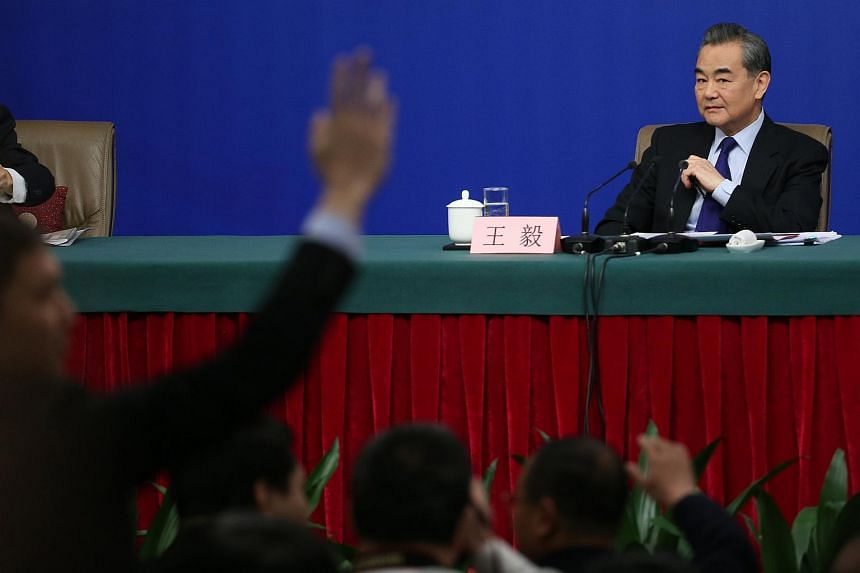 Chinese Foreign Minister Wang Yi said China will join hands with Asean to allay the effects of the disruptions so that the South China Sea can continue to be a sea of peace and cooperation.