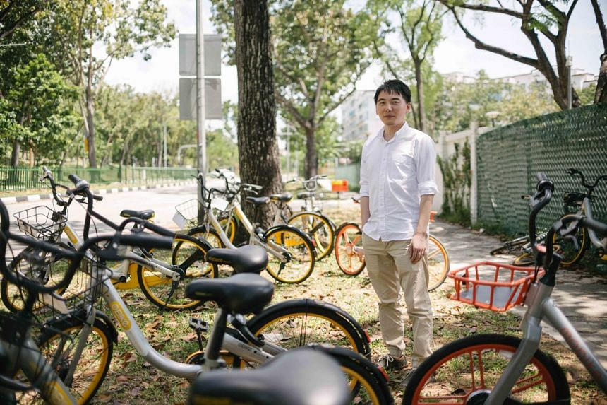 """Dr Zhang Xiaohu said the """"oversupply of bikes may hurt the operators' economic sustainability and cause urban and visual pollution""""."""