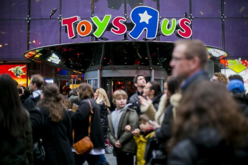 The Toys 'R' Us store at Times Square in New York.