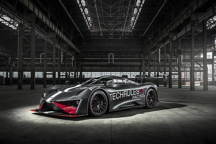 Ren RS hybrid supercar