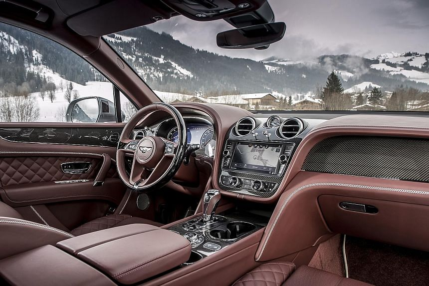 The Bentley Bentayga V8 offers an impeccable ride and body control.