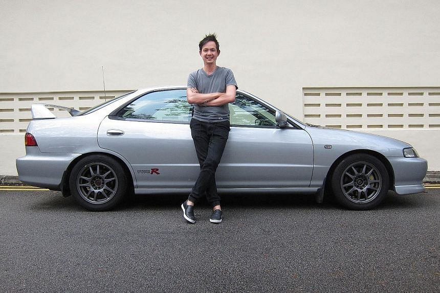 Mr Chew Chen Yang is drawn to the design of the 1998 Honda Integra Type R, a sportier variant of the discontinued Integra.