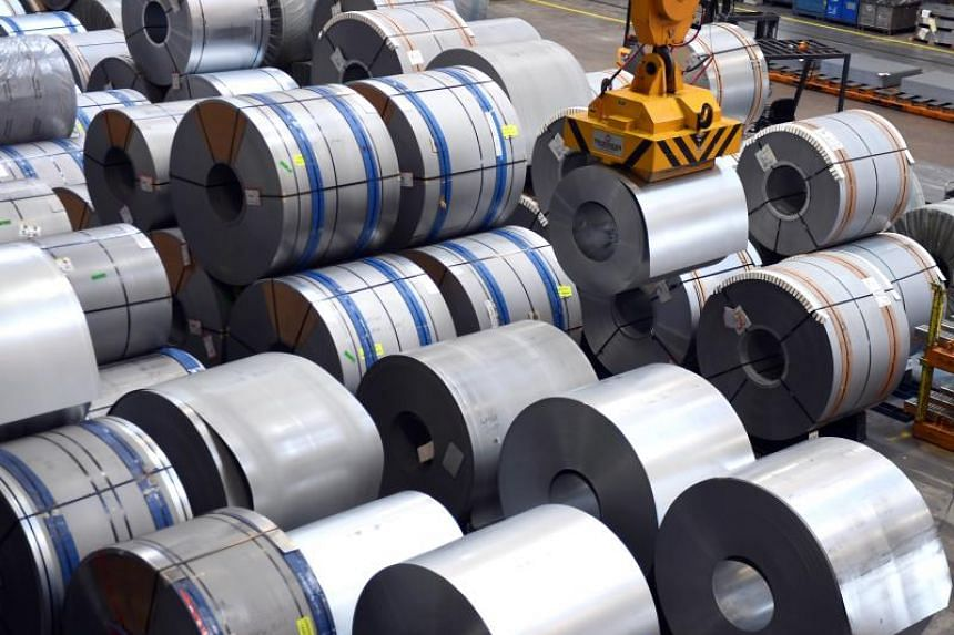 The EU exports around five billion euros' (S$8.1 billion) worth of steel and a billion euros' worth of aluminium to the US each year.