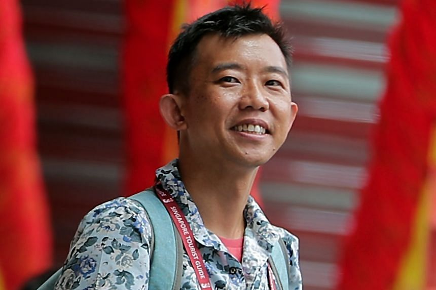 Private guide Toh Thiam Wei can now take out advertisements and publish his itinerary, which is reassuring for tourists.