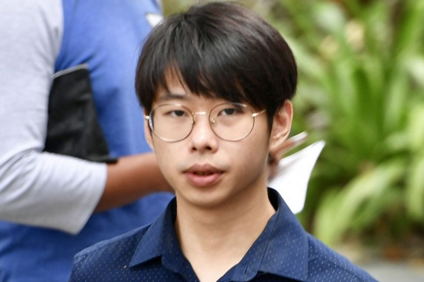 Ivyn Toh (above) and Liu Jiaming allegedly caused hurt by riding their e-scooters in a negligent manner. Qin Jian admitted injuring a nine-year-old boy while riding his e-scooter in a negligent manner at an HDB void deck in Clementi West Street 2.