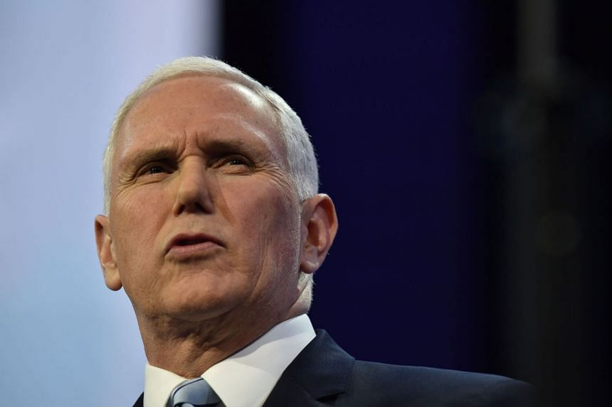 Pence says Trump's efforts to isolate his North Korean counterpart are bearing fruit.