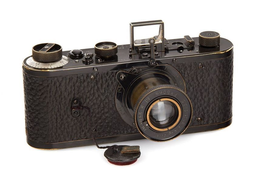 Only about 25 of the historic Leica 0-series cameras (above) were produced in 1923.