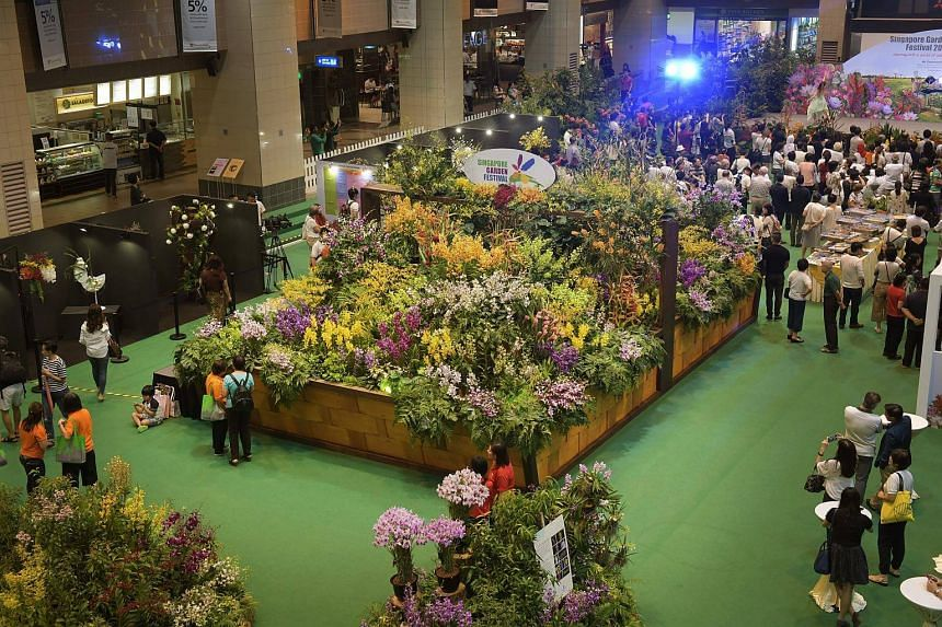 Show garden designers will also be displaying their talents at the Singapore Garden Festival this year.