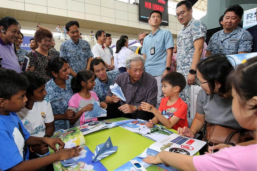 At the event, visitors will get to interact with RSAF airmen and women, as well as learn more about the force's capabilities through static displays of aircraft and weapon systems.