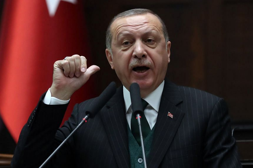 Turkish President Recep Tayyip Erdogan's latest comments were among the toughest he has directed in recent times against Nato.