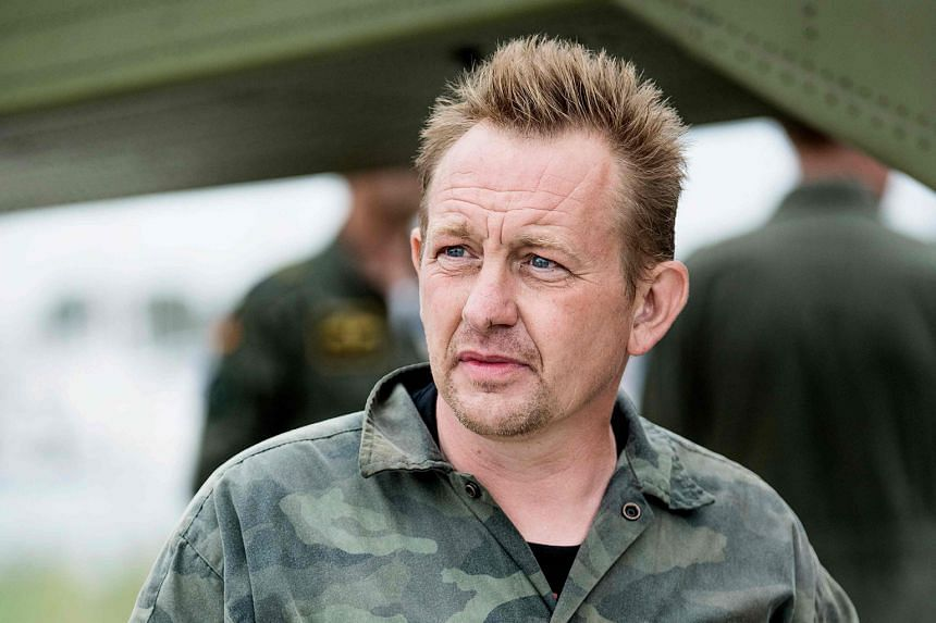 Peter Madsen (above) is accused of killing and dismembering Swedish journalist Kim Wall (top) last year aboard the submarine he built.