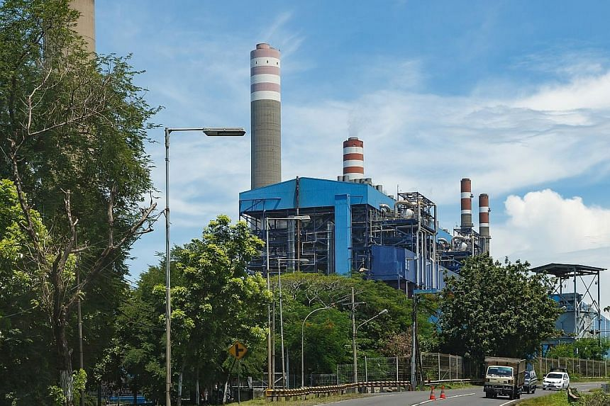 The Paiton coal-fired power station complex in East Java, Indonesia. A consortium of banks, including DBS, HSBC and Citigroup, was involved in a recent US$2.75 billion bond issue and loan for the complex. DBS recently became the first local bank to r