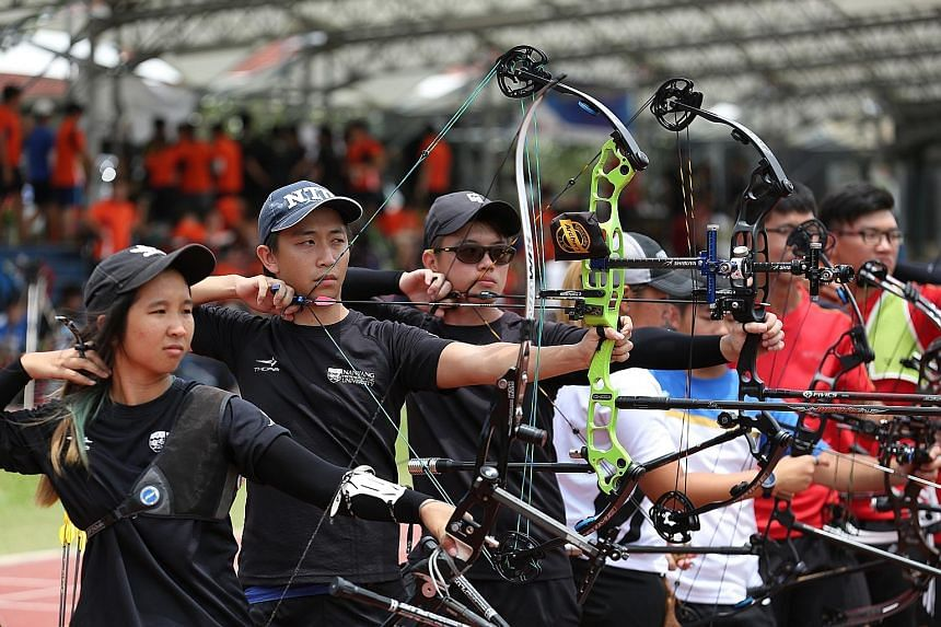 A record 208 archers took part in the 10th Institutional Archery Competition at the Nanyang Technological University (NTU) sports and recreation centre over the weekend. Organised by the NTU Archery Club, the number of participants this year is a 20