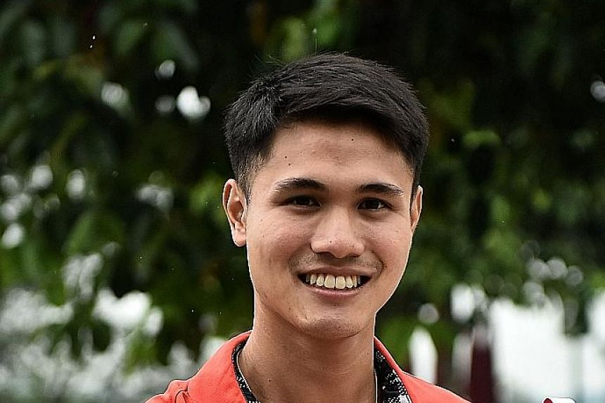 Golfer Gregory Foo is aiming for a gold medal at the Asian Games in Indonesia in August.