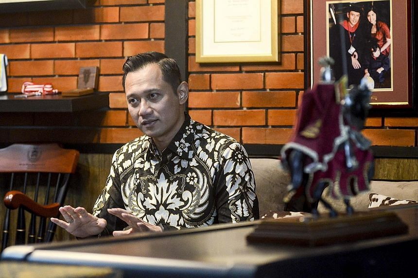 Mr Agus Harimurti Yudhoyono, the eldest son of former Indonesian president and Democratic Party chairman Susilo Bambang Yudhoyono, says he plans to galvanise Indonesians, particularly youth, through the Democratic Party, and the Yudhoyono Institute,