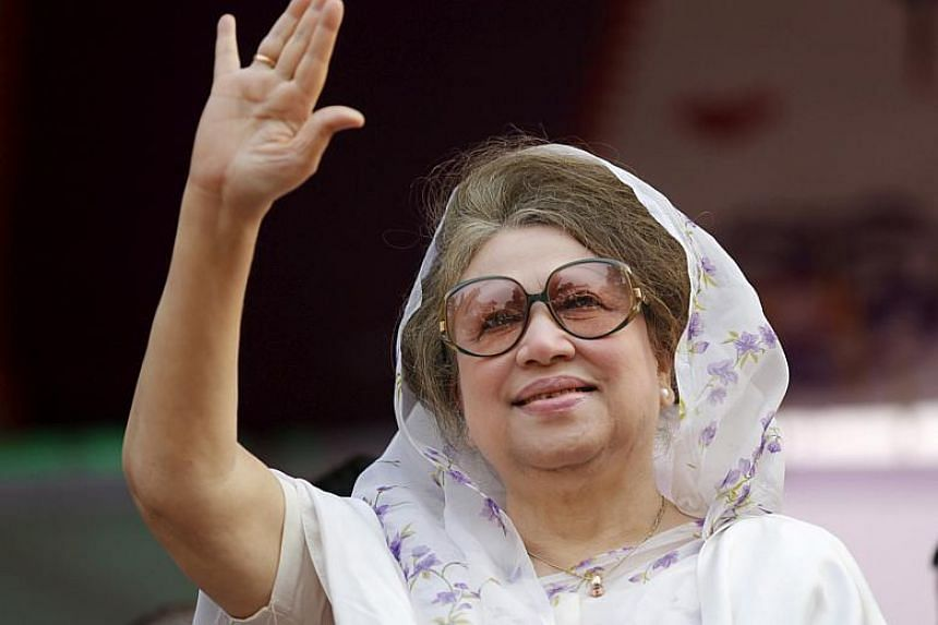 Bangladesh opposition leader Khaleda Zia, 72, was jailed for five years last month after she was convicted of embezzling money meant for an orphanage, a charge she had consistently dismissed as politically motivated.