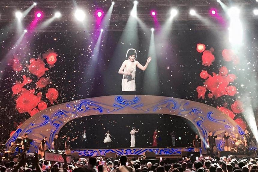 Iconic Taiwanese singer Teresa Teng will be brought to life in realistic virtual form at a concert held at the Singapore Indoor Stadium.