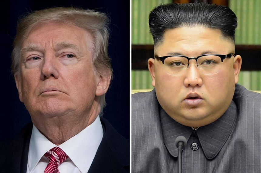 US President Donald Trump (left) agreed on March 8, 2018, to a historic first meeting with North Korean leader Kim Jong Un.