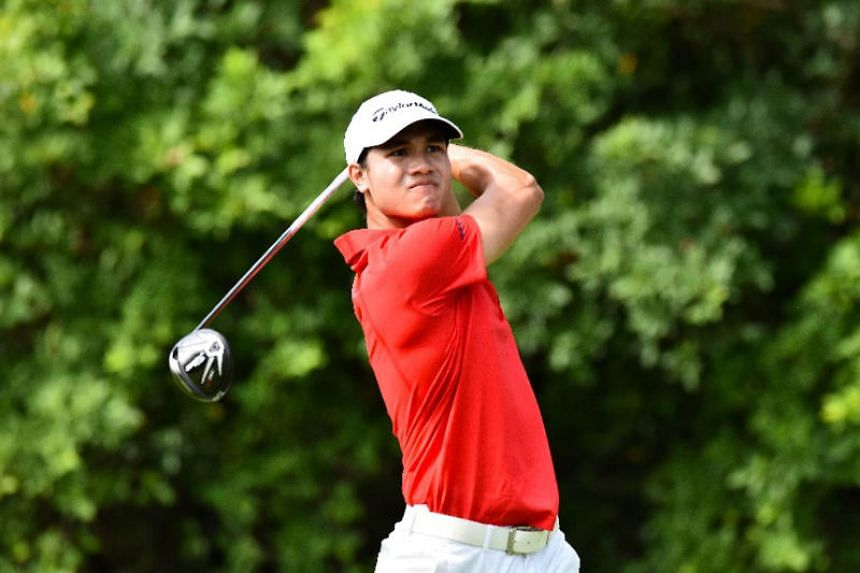 Singaporean golfer Gregory Foo helped Team Asia-Pacific beat Team Europe to win the Bonallack Trophy.