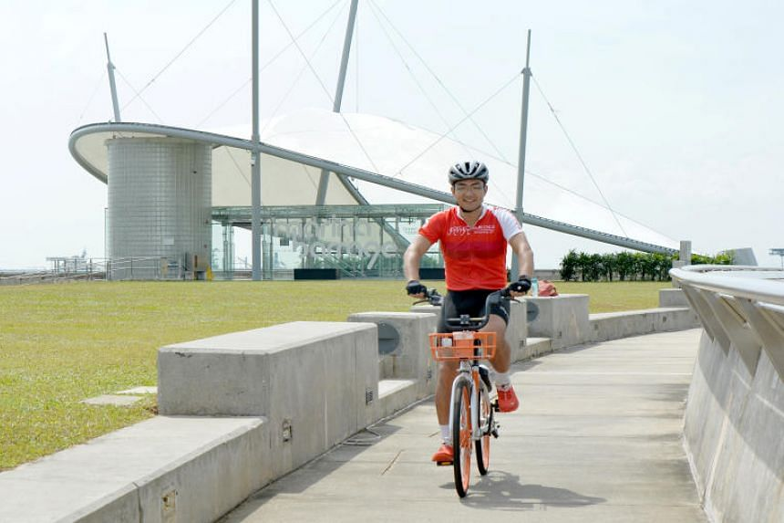 An avid cyclist, Wan Liu Yang had completed the round-island ride several times on his road bike, but decided to use a Mobike to challenge himself.