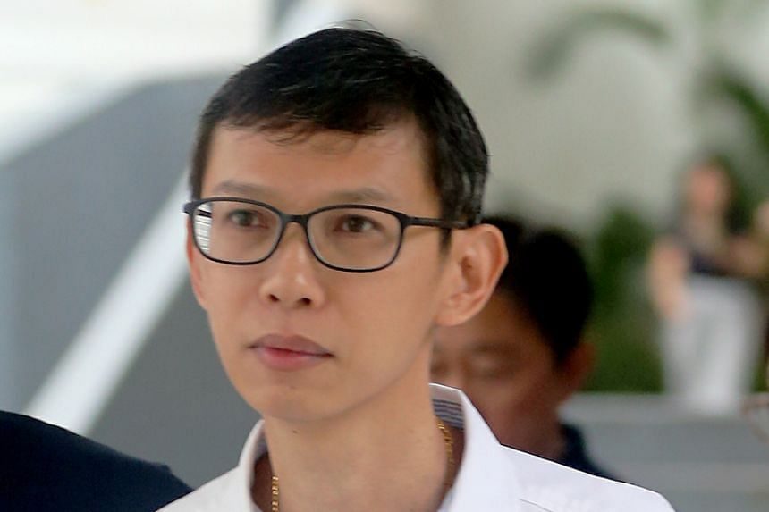 Former SMRT assistant engineer Lim Say Heng pleaded guilty to one count of causing death by negligence and was sentenced to four weeks' jail.