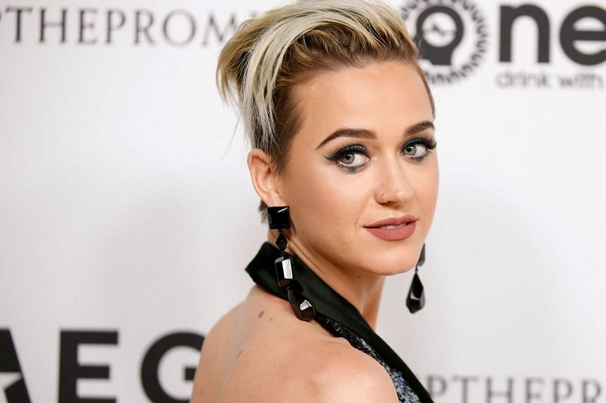 Sister Catherine Rose Holzman, one of two aging nuns battling pop star Katy Perry (pictured) over the sale of the convent, collapsed and died during a court appearance.
