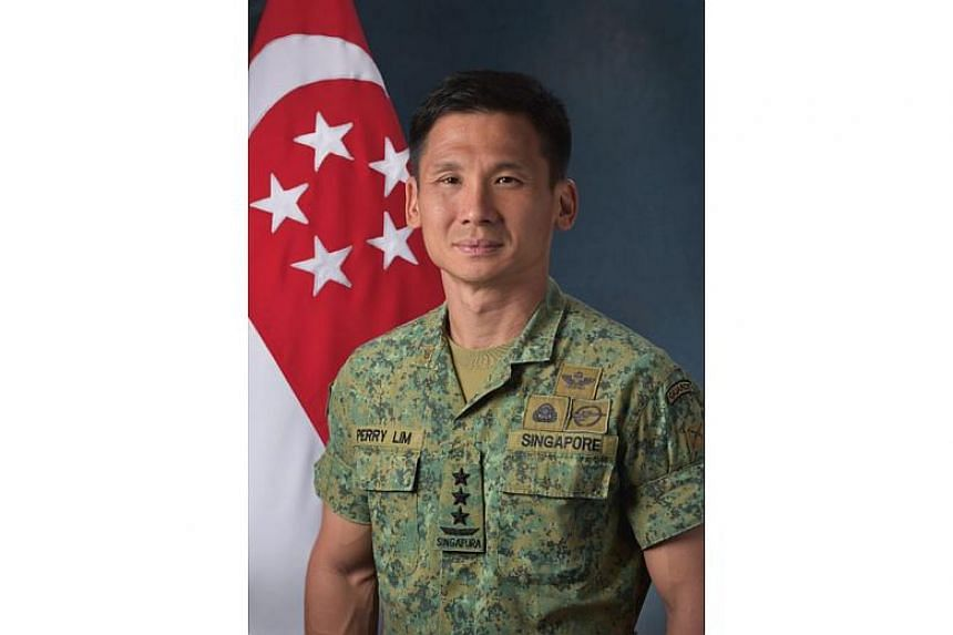 Maj-Gen Ong, 43, will replace Lieutenant-General Perry Lim (above), 46.