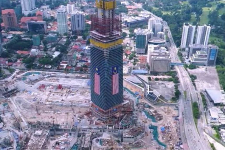 Mulia Property owns the land on which the 106-storey TRX Tower is being built, after buying it from 1MDB in May 2015 for RM665 million (S$224 million).