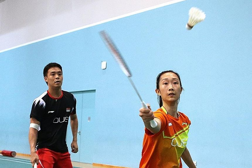 Terry Hee and Tan Wei Han have qualified for the All England mixed doubles event but will focus on the Commonwealth Games.