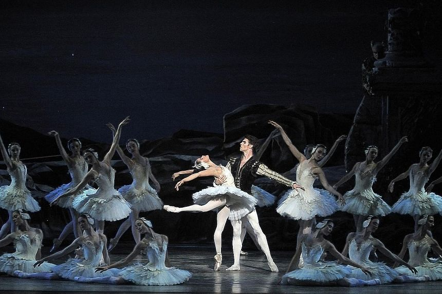 The lead role of the Singapore run of Swan Lake will be played across five shows by as many ballerinas.