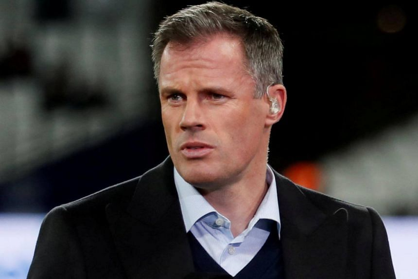Former Liverpool footballer Jamie Carragher.