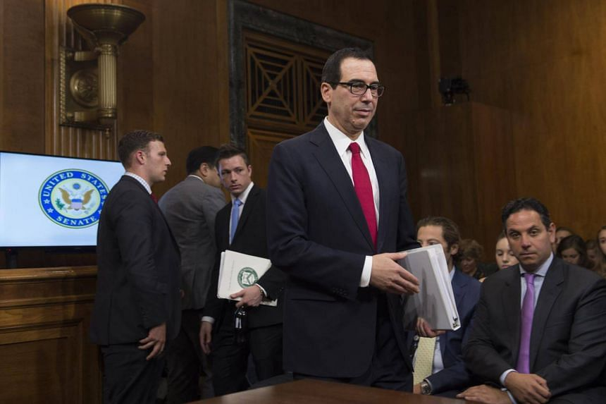 US Treasury Secretary Steven Mnuchin is leading the Committee on Foreign Investment in the United States, or CFIUS.
