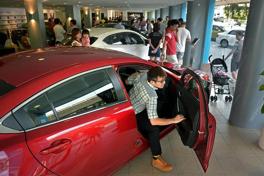 Compared with the previous month, motor vehicles fared the worst, plunging 20.9 per cent.