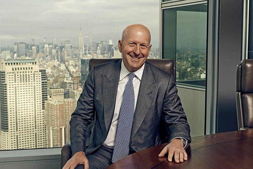 David M Solomon has been anointed as the sole heir apparent to Goldman's chief executive.