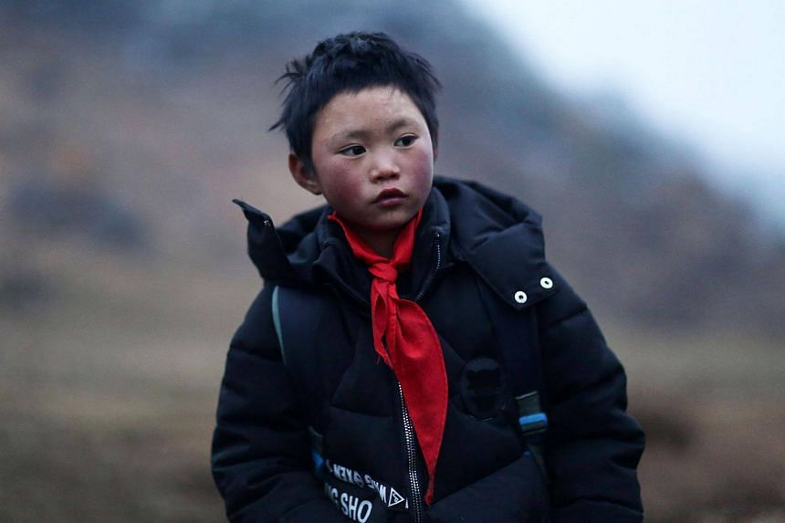 """Wang Fuman is known as """"Frost Boy"""" in Ludian in China's south-western Yunnan province."""