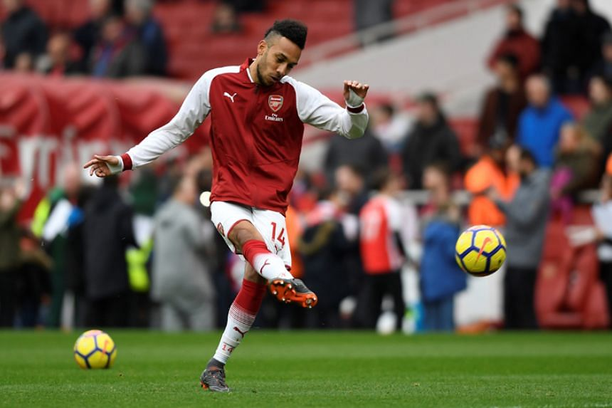 """Pierre-Emerick Aubameyang played for former club Borussia Dortmund in the Champions League this season and Uefa's """"cup-tied"""" rule prevents him from representing his new team in Europe for the rest of the season."""