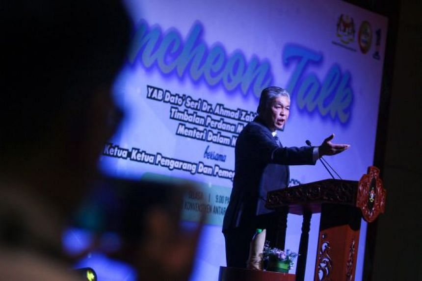 Malaysia's Deputy Prime Minister Ahmad Zahid Hamidi said a proposal to tax Google and Facebook advertisements will be presented to the Cabinet.